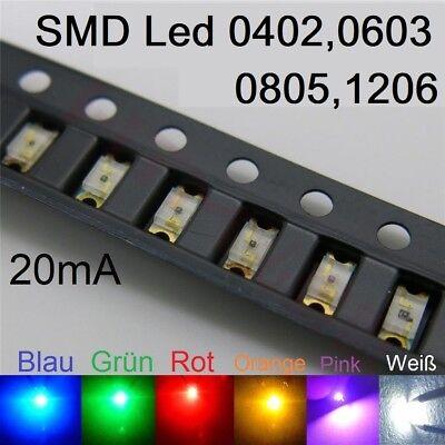 1000Pcs Smd Smt 1206 Super Helle Gelbe Led Lampe ab