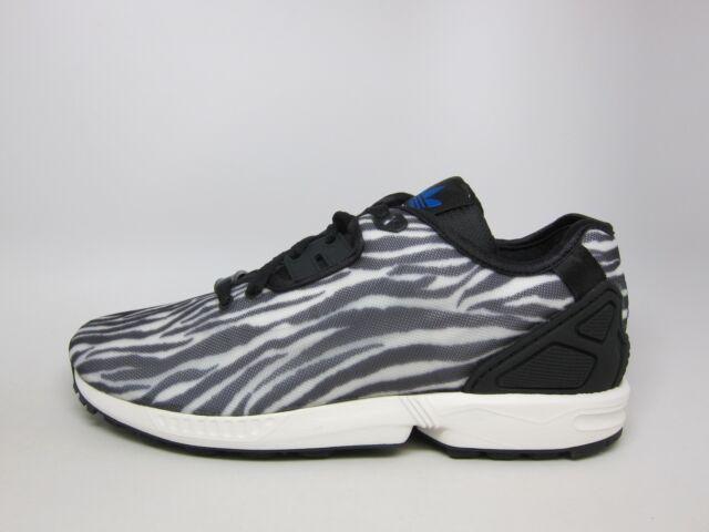 Verkauf Herren Adidas ZX FLUX DECON B23728 Weiß Schwarz Blau
