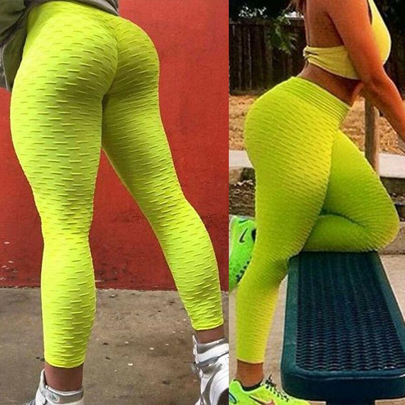 Push-Up Yoga Leggings Jogginghose Fitness Butt Lift Sports Leggins Sexy Damen