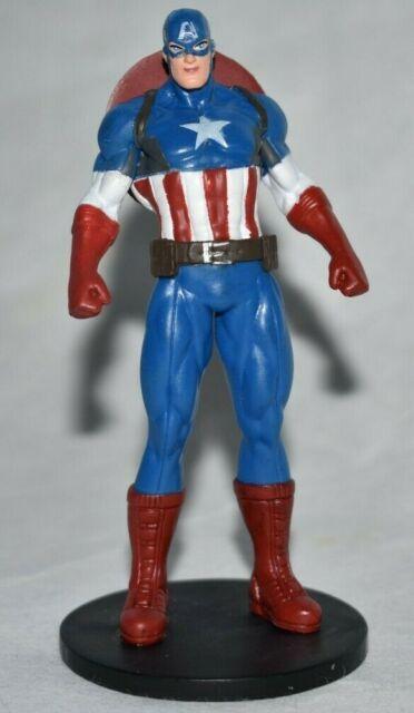 Disney Authentique Captain America Figurine Cake Topper Avengers Marvel Jouet Nouveau