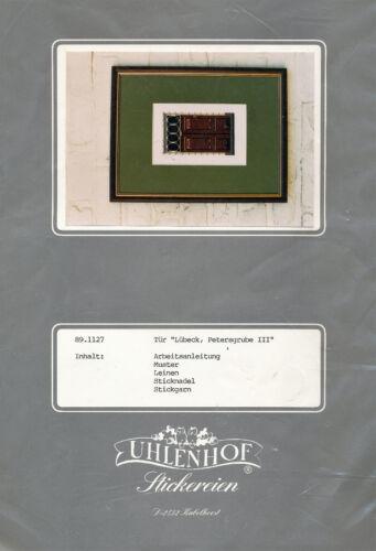 rarità porte Stick Confezione uhlenhof Vesch ricamare ~ 24x30 CM Croce