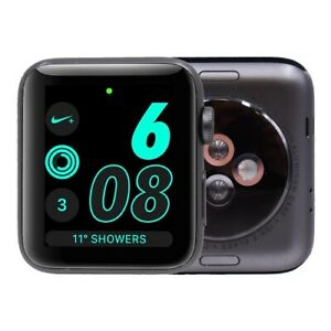 Apple Watch Series 2 Nike 42mm Aluminum Gps Silver C Watch Only Ebay