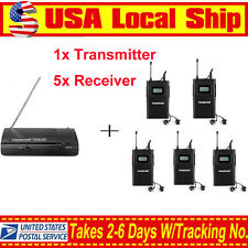 Takstar WPM-200 Wireless In-Ear Stage Monitor System 1 Transmitter 5 Receivers