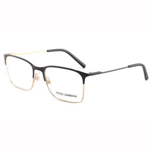 33980a7fec2 New Authentic Dolce   Gabbana DG 1289 1305 Frame Rx Eyeglasses Italy ...