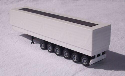 Fahrgestell 6-achs schwarz Bausatz 1:87