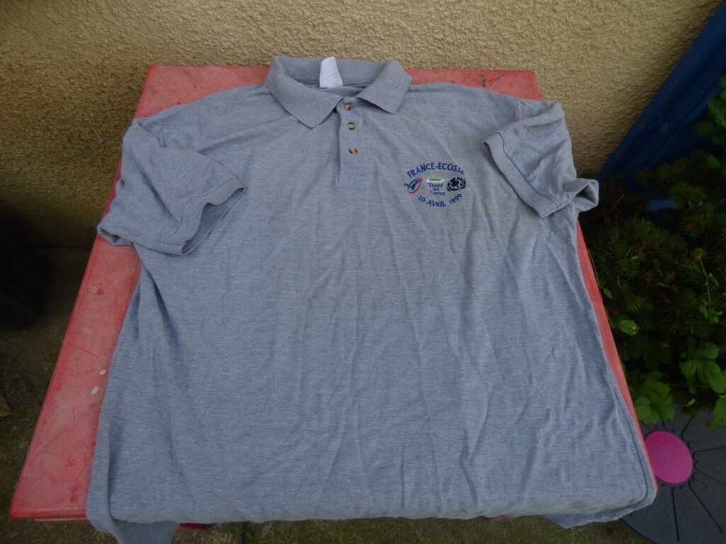 Polo France - Scotland Stade from France 10 april 1999 T XL grey
