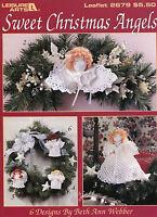 Sweet Christmas Angels 6 Angel Designs Crochet Patterns