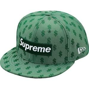 0b5bfeab Supreme SS18 Monogram Box Logo New Era - Dark Green, Size 7 1/8 ...