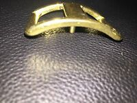 1 Conway Style Solid Brass Buckle One Buckle