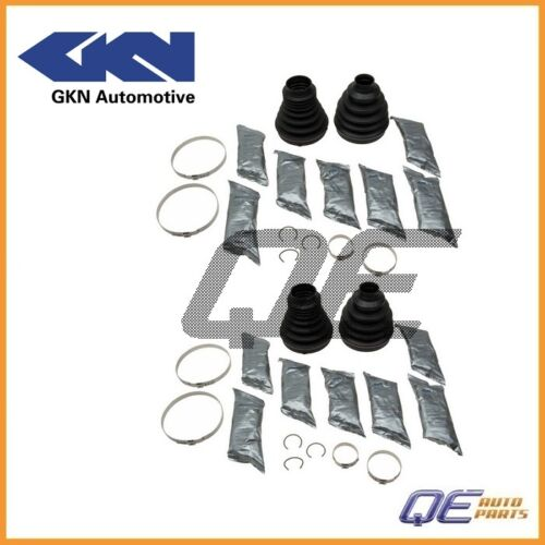 Land Rover Range Rover 03-12 2 Front Outer CV Joint Boot Kits GKN 305628 For