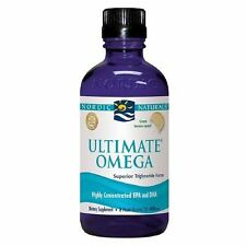 Nordic Naturals Ultimate Omega Lemon Taste Omega-3 8 Fl. Oz. Exp. 01/20