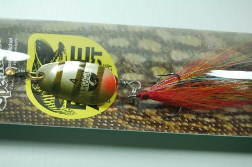 Pezon /& Michel Buck Pike Spinner 18 g Hecht Raubfisch Bucktail Spinnangeln