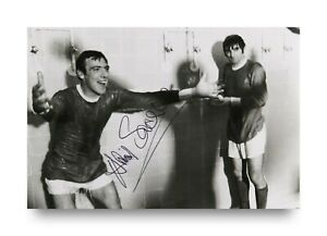 David-Sadler-Signed-6x4-Photo-Manchester-United-England-Genuine-Autograph-COA