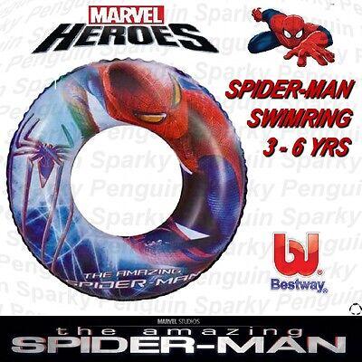 Il Sorprendente Spider-man Swim Ring Gonfiabile Nuoto Ragazzi Ragazze Bambini Pool Pneumatico- Grande Assortimento