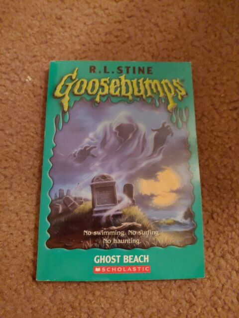 Goosebumps #22: Ghost Beach by R. L. Stine (1994, Trade Paperback) : VERY GOOD+