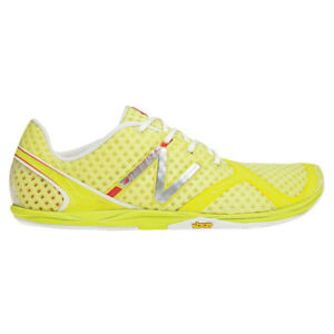 Original-New-Balance-Minimus-WR00-BC-WR00BC-Running-Shoes-Women-039-s-Yellow-White