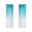 Gradient-Sheer-Curtain-Tulle-Window-Treatment-Voile-Drape-Curtain-Valance-6L miniature 15