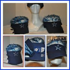 01576e09b78a9 NFL Officially Licensed Dallas Cowboys Visor With Hair Flair for ...