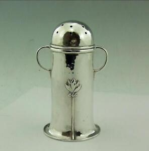 ARTS-amp-CRAFTS-SOLID-SILVER-SUGAR-CASTER-CHRISTINE-CONNELL
