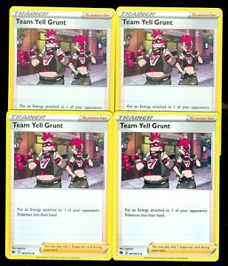 SWSH CHAMPION/'S PATH TEAM YELL GRUNT 067//073 UNCOMMON REVERSE Pokemon