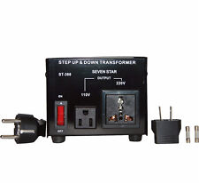 NEU SPANNUNGSWANDLER 300 Watt USA Transformator 230V-110V  Converter 300W 100V