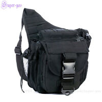 Tactical Dslr Camera Shoulder Pouch Waist Pack Travel Hiking Military Hip Bag