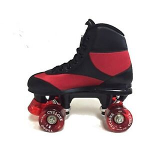 New-California-Pro-Cyclone-Quad-Roller-Skates-Unisex-Boys-Mens-Black-Red