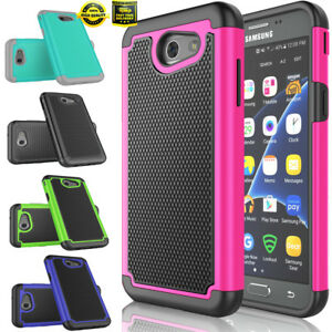 Pour-Samsung-Galaxy-Amp-Prime-2-Express-Prime-2-Shockproof-Rugged-Case-Cover