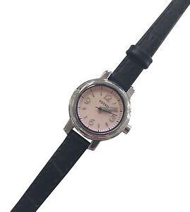 Fossil-Armbanduhr-WATCH-BAR-Edelstahl-Silber-Lederband-Analog-WB1086-1