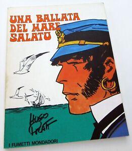 CORTO-MALTESE-PRATT-UNA-BALLATA-DEL-MARE-SALATO-FUMETTI-MONDADORI-ITALIEN-TBE