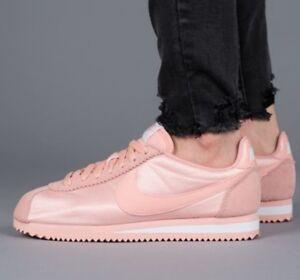 the best attitude 06555 1bdfe Image is loading Nike-Women-039-s-Classic-Cortez-Nylon-Shoes-