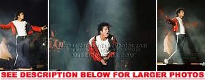 Image Is Loading MICHAEL JACKSON 987 BAD TOUR BEAT IT 3xRARE8x10