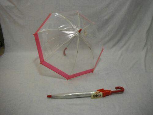 Coloured Border Shelta Childrens Birdcage Umbrella  1239