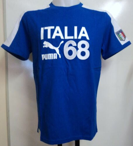ITALY 201213 ARCHIVE T7 RINGER T SHIRT BY PUMA SIZE MEDIUM BRAND NEW WITH TAGS