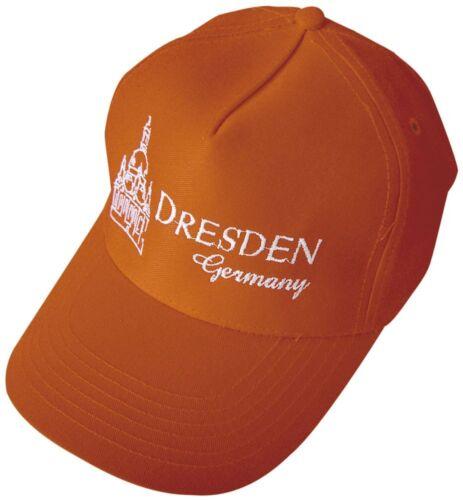 Baseballcap Casquette schirmmuetze bonne nuit de Orange Avec Stick DRESDE GERMANY 69269