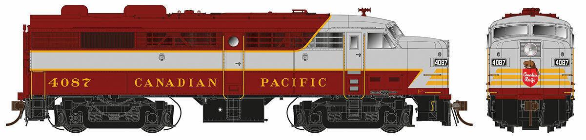 Scala H0 - Locomotiva Diesel Mlw FA-2 Canadian Pacific Pacific Pacific 21014 Neu 5ad3f0