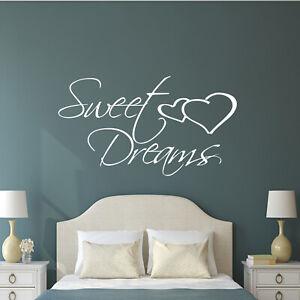 Dream Quote Bedroom Home Kids Décor Wall Art Sticker Vinyl Transfer Decal