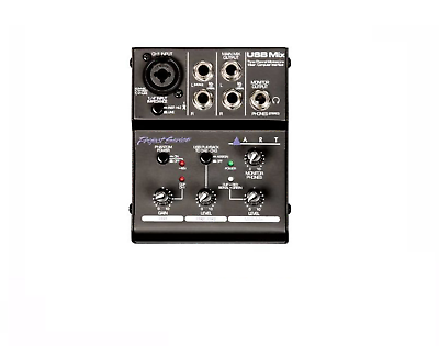 Pro Audio Equipment Art Usb Mix Usbmix Three Channel 3-channel Mic/inst/line Audio Mixer/interface Musical Instruments & Gear