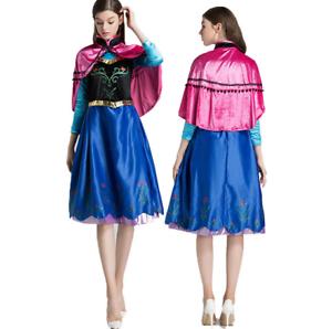Good Image Is Loading Uk Christmas Women Deluxe Frozen Anna Princess Dress