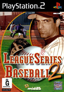 League-Series-Baseball-2-PS2-Game-USED