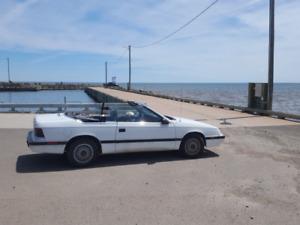 1989 Chrysler Le Baron Vitre Electric