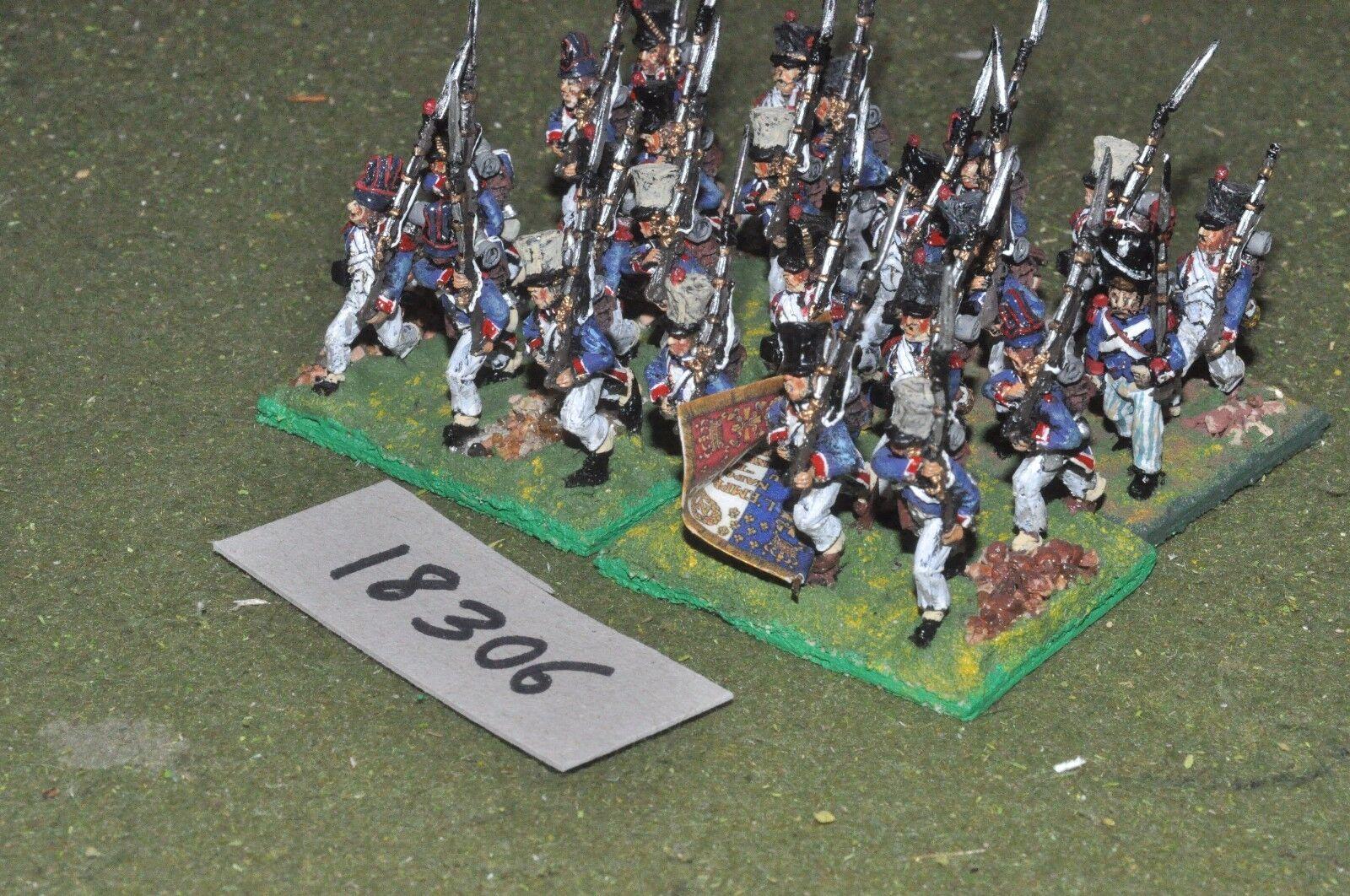 gran venta 25mm 25mm 25mm Infantería Napoleónicas francés 24 higos-INF (18306)  la red entera más baja