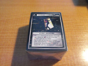 STAR TREK CCG 2E ENTERPRISE COLLECTION COMPLETE SET OF 18 CARDS