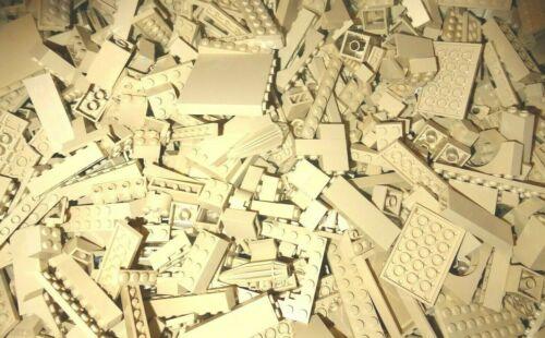 LEGO 100 Teile TAN Steine Platten Sondersteine Sammlung Konvolut Bauteile kg