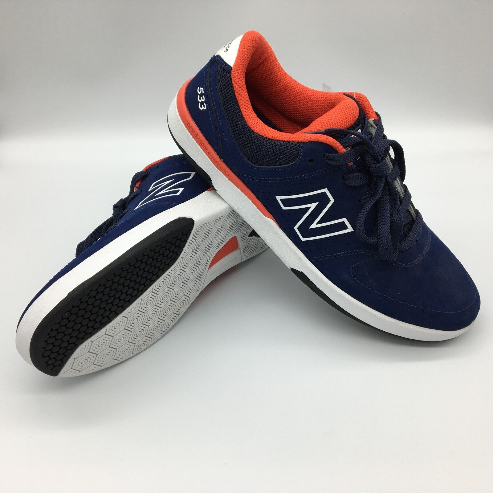 New Balance Numeric NM533ABR PJ Ladd 533 v2 Navy Men's Size US 9.5 Athletic PBW