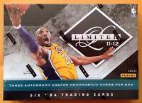 2011-12 Panini Limited Hobby Box 3 Autograph/memorabilia (kobe Stephen Curry)?