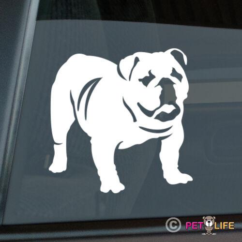 English Bulldog Die Cut Vinyl Sticker Bull Dog British English