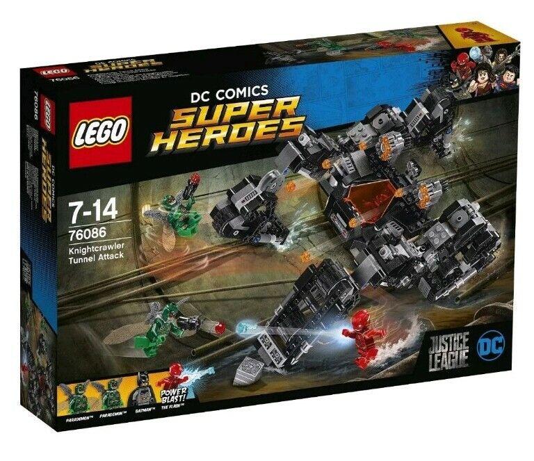 LEGO  Super Heroes - Knightcrawler  Ataque subterráneo (76086)  produit de qualité d'approvisionnement