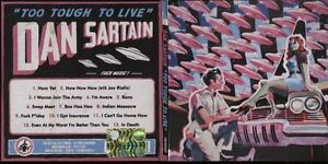 CD-DAN-SARTAIN-TOO-TOUGH-TO-LIVE-2012-ONE-LITTLE-INDIAN-RECORDS-DIGIPACK