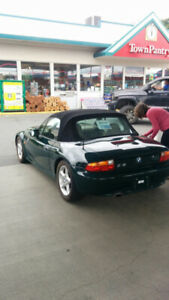 Racing Green - BMW Z3 Convertible- Great Condition *We Accept CC